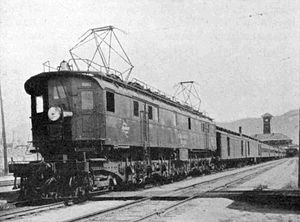 Milwaukee Road class EP-3 - Image: MILW Quill