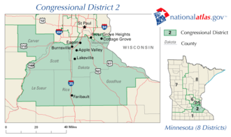 United States House of Representatives elections in Minnesota, 2008 - Image: MN02 109