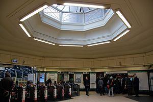 Morden tube station