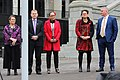 MPs at NZEI Te Riu Roa stike rally on the steps of parliament 15th August 2018, 2.jpg