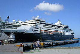 MS Ryndam in Cozumel