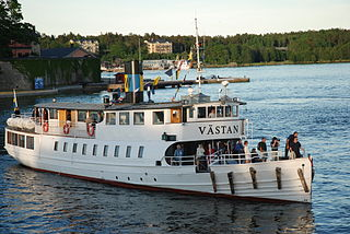 MV <i>Västan</i> Swedish passenger ship