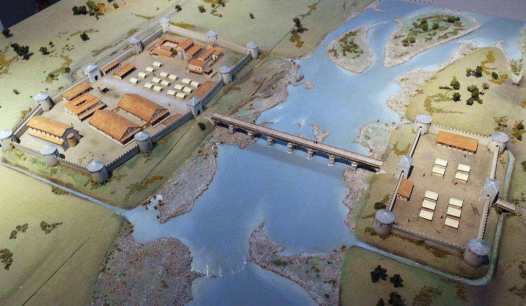 File:Maastricht, maquette laat-Romeins Maastricht (F Schiffeleers, 1992)  05.JPG - Wikimedia Commons