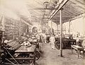 Machine room No.1 in The Times of India office in Bombay, November 1898.jpg