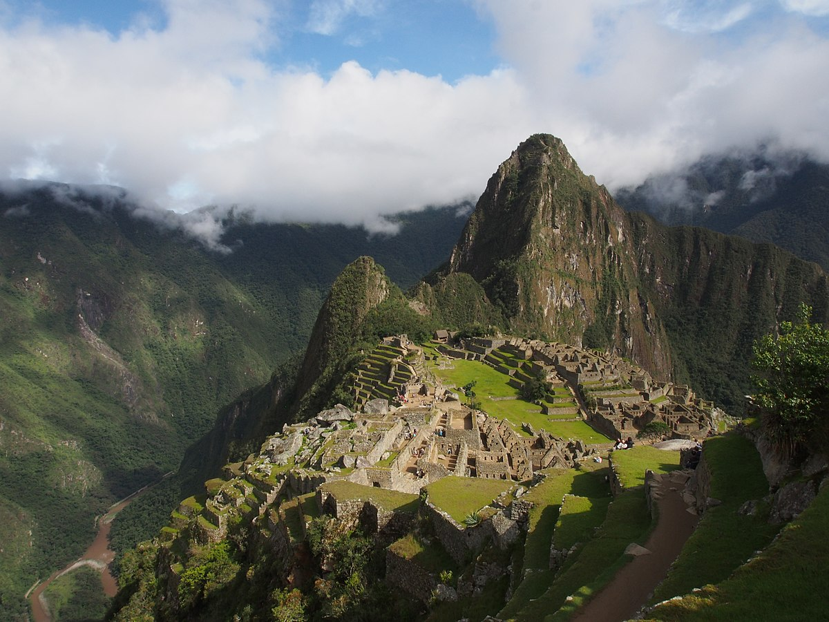 Machu Picchu , the lost city of the inca empire.jpg