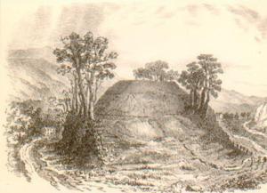 Christian Maclagan - Christian Maclagan, drawing of Keir Hill, Gargunnock, c.1870