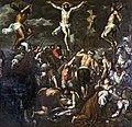 Madonna dell'Orto (Venice) - Chapel Morosini - Crucifixion by Palma il Giovane.jpg