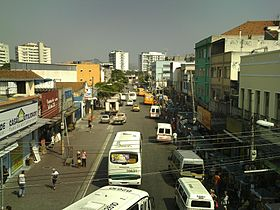 Madureira, vue de Rua Domingos Lopes