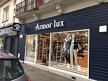sold worldwide detailed look half off Armor-Lux — Wikipédia