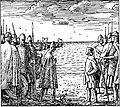 Magnus den godes saga - Magnus og Horda-Knut - H. Egedius.jpg