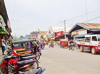 Padada, Davao del Sur - Image: Magsaysay Street (Town of Padada)