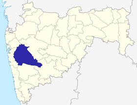 Localisation de District de Pune
