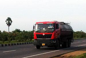 Mahindra Truck and Bus Division - Mahindra Navistar Tanker Truck on NH45 in Tamil Nadu(2013)