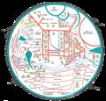 Mahmud al-Kashgari map (Türkçe).png