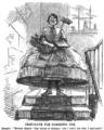 Maid in crinoline. Punch Almanack for 1862.png