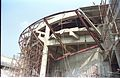 Main Auditorium Under Construction - Convention Centre Complex - Science City - Calcutta 1995-06-09 121.JPG