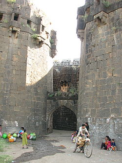 Main Entrance, Naldurg fort.jpg