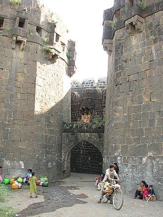 Naldurg Fort - Main entrance of the Naldurg Fort