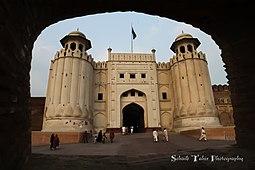 Puerta principal del fuerte