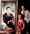 Makks with Portrait of Ronald Reagan.jpg