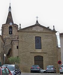 The church of Malemort du Comtat