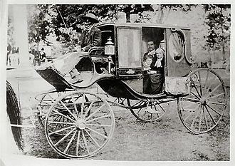 Greenwood LeFlore - Greenwood LeFlore's horse carriage, late 1800s.