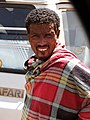 Man at Roadside - En Route from Bahir Dar to Gondar - Ethiopia - 01 (8686267270).jpg