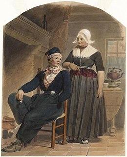 Wonderbaar Klederdracht van Volendam - Wikipedia VX-63