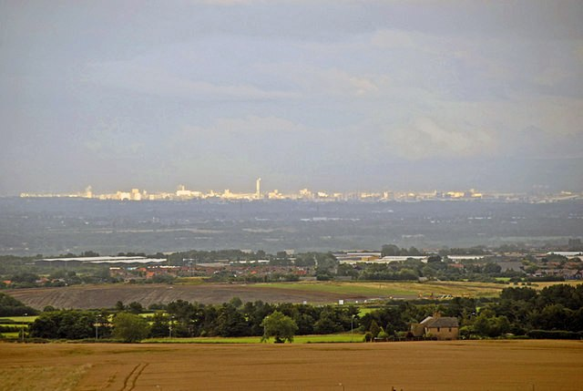 Manchester from Billinge Hill