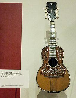 Mandolinetto (c.1920) by S. O. Allison - MIM PHX