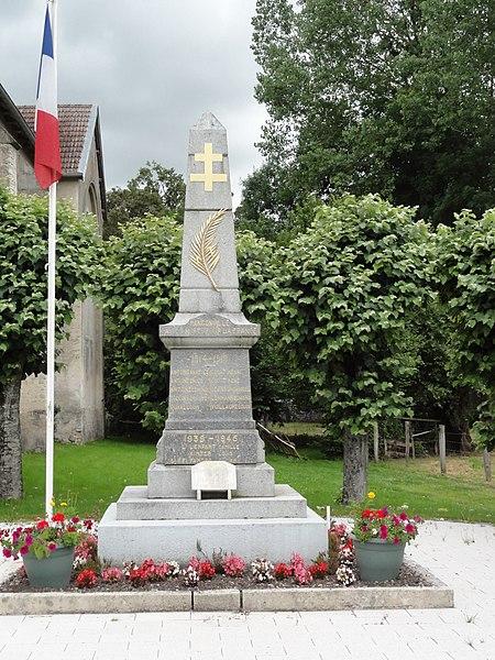 Mangonville (M-et-M) monument aux morts