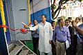 Manish Gupta Cuts the Ribbon - Digital India MSE Bus - Inaugural Function - MSE Golden Jubilee Celebration - Science City - Kolkata 2015-11-17 4921.JPG