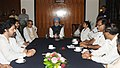 Manmohan Singh, the Union Finance Minister, Shri Pranab Mukherjee, the Chief Minister of West Bengal, Kumari Mamata Banerjee, the Minister of State for Health and Family Welfare.jpg