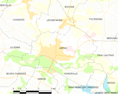 Map commune FR insee code 16167.png
