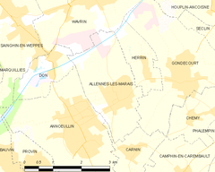 Map commune FR insee code 59005.png