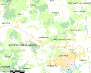 Map commune FR insee code 71282.png