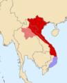 Map of Later Lê dynasty during the reign of Lê Thánh Tông (1460-1497).png