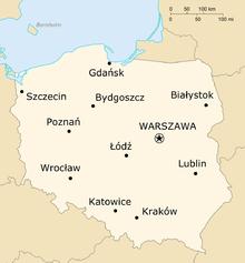 krakow karta polen Polen   Wikivoyage krakow karta polen
