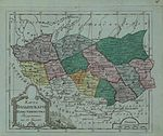 Map of Volhynian Namestnichestvo 1796 (small atlas).jpg