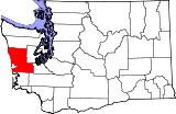 Map of Washington highlighting Grays Harbor County.svg