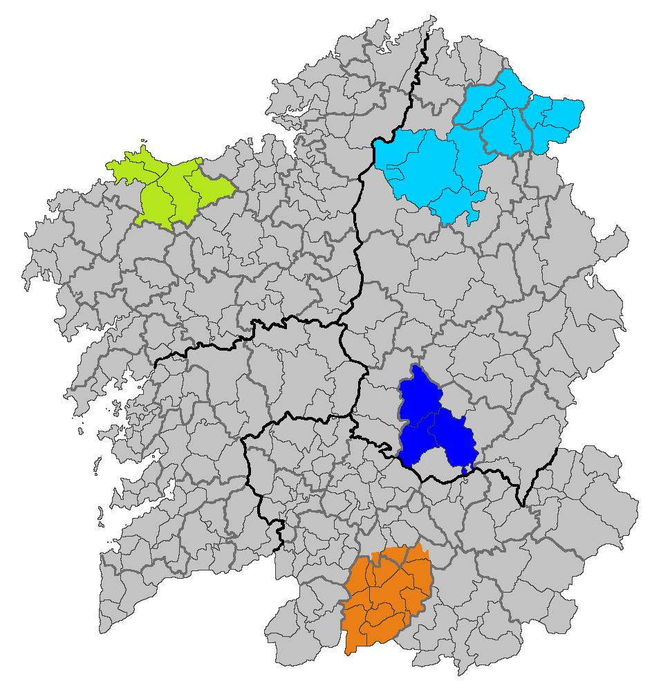 Mapa IXP Pataca de Galicia