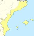 Mapa Segunda División B Grupo III 2012-13.png