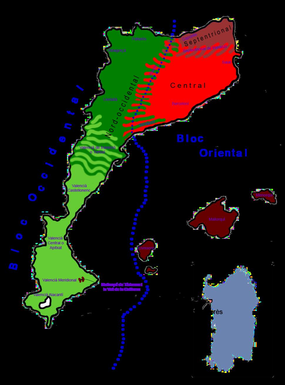 Mapa dialectal del català