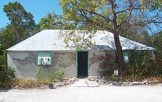 George Adderley House historic home in Marathon, Florida, USA