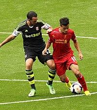9a23bfde48 Coutinho vs Stoke City en 2013