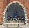 Marian Shrine at Our Lady of Sorrows Catholic Church in Bernalillo New Mexico.jpg