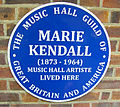 Marie kendall's plaque 2011.jpg