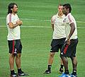 Mario Yepes and Kevin Constant, AC Milan.jpg