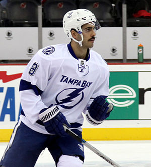 Mark Barberio - Barberio with the Lightning in 2014.