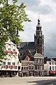 Markt (Gouda) with Sint-Janskerk.jpg